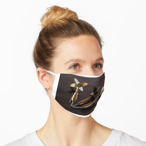 Dartpfeile Maske