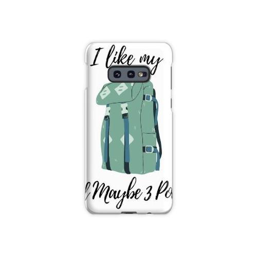 Ich liebe meinen Rucksack und vielleicht 3 Leute Samsung Galaxy S10e Case
