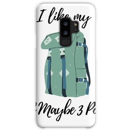 Ich liebe meinen Rucksack und vielleicht 3 Leute Samsung Galaxy S9 Plus Case
