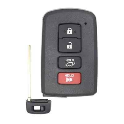 New Aftermarket Toyota Key Fob Replacement 4 Button HYQ14FBA