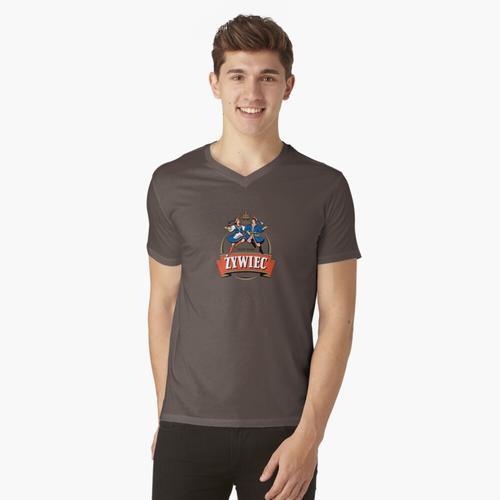 Zywiec Polska Bier - Polnisch t-shirt:vneck