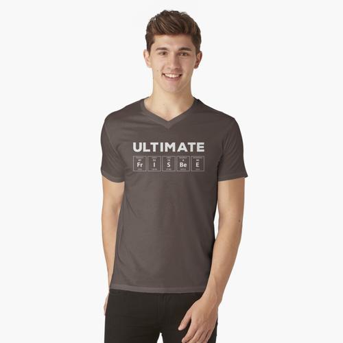 Ultimate Frisbee t-shirt:vneck