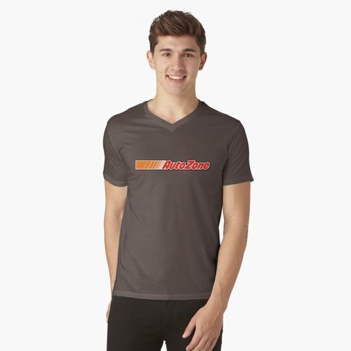 automatische Zone t-shirt:vneck