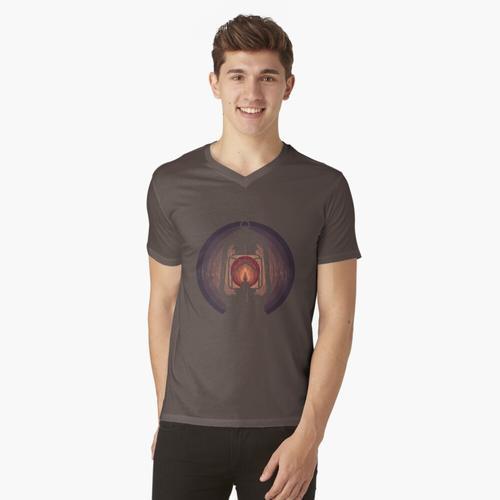 Öllampe t-shirt:vneck