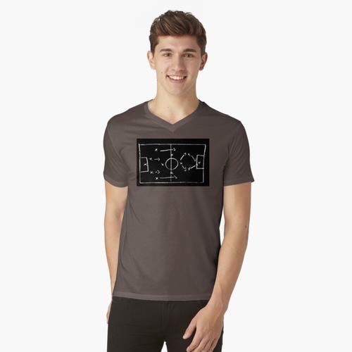 Fußball (Taktik) - Taktikzeit t-shirt:vneck