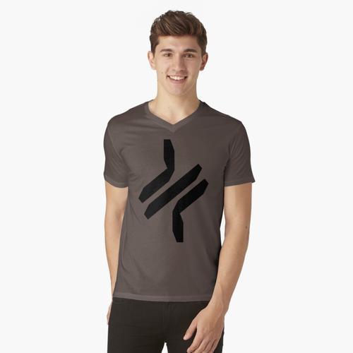 dreimal - Widerhaken t-shirt:vneck