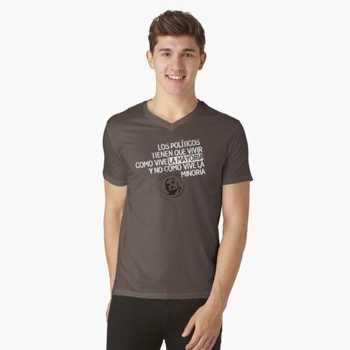 Politiker t-shirt:vneck
