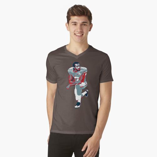 Colin Kaepernick t-shirt:vneck