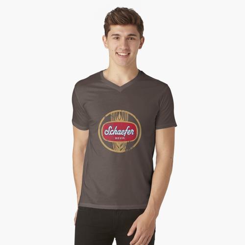 Schäferbier t-shirt:vneck