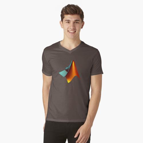 MATLAB t-shirt:vneck