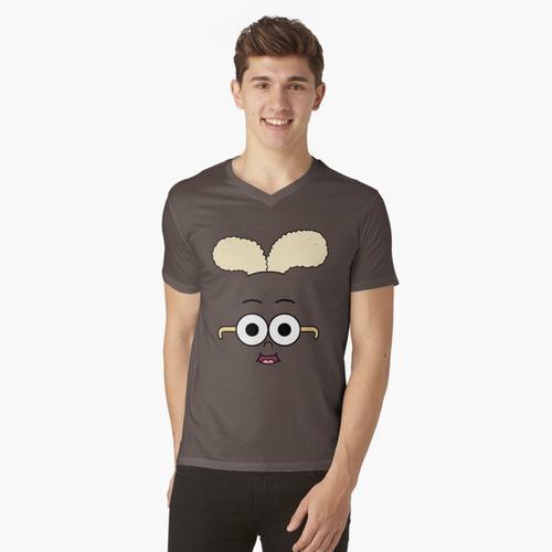 Apfel und Zwiebel - Zwiebel t-shirt:vneck