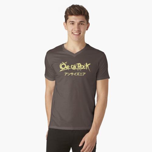Ein Ok Rock Tulisan Japan t-shirt:vneck
