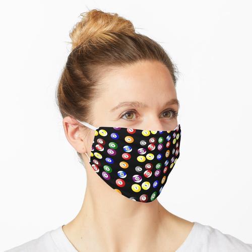 Billardkugeln Maske