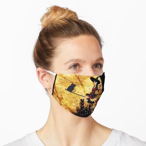 Vorsichtige Hexe Maske