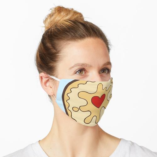 Jammy Dodger Britischer Keks Maske