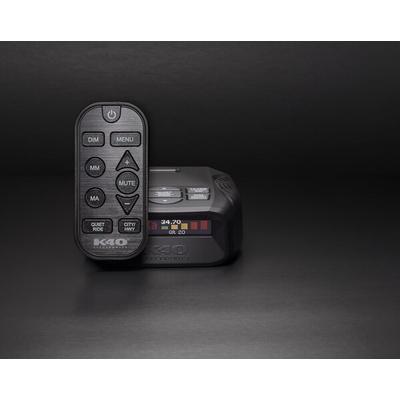 K40 Platinum 100 RC Portable Radar Detector W/Remote