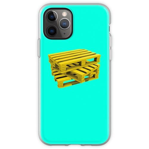 Wood Pallets Flexible Hülle für iPhone 11 Pro