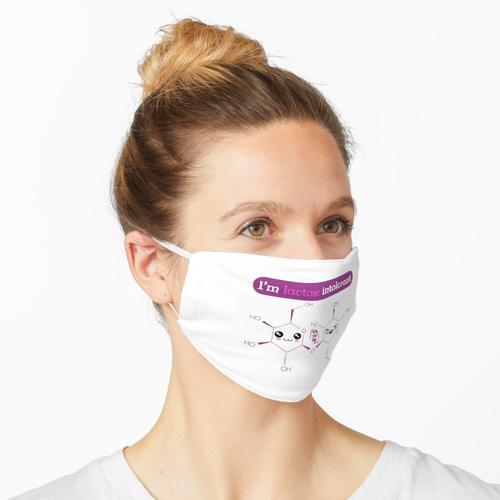 Ich bin Laktoseintolerant Maske