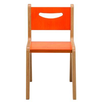 """Whitney Plus 14"""" Orange Chair - Whitney Brothers CR2514O"""