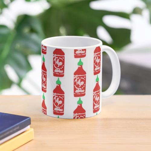 Hot Sauce (white) Mug