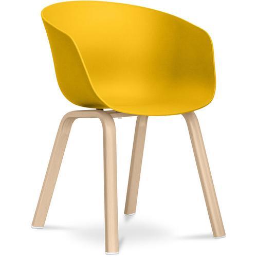 Hey Chair Skandinavisches Design - Mattes Gelb