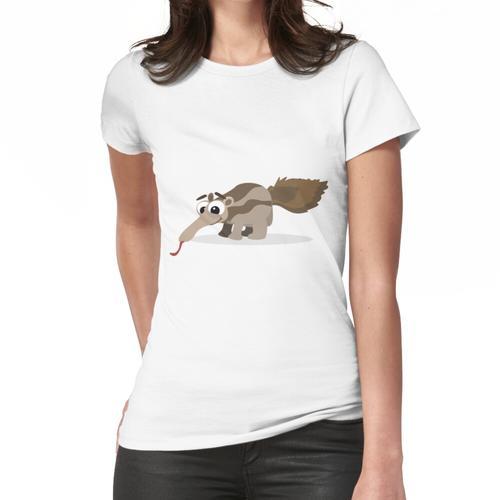 Netter Baby Ameisenbär Frauen T-Shirt