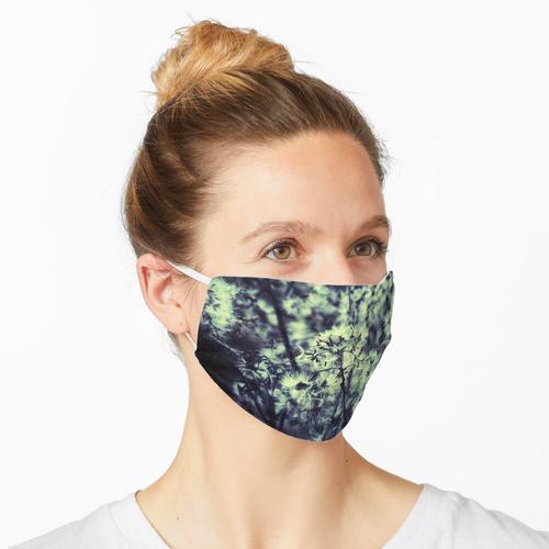 Flauschige Maske