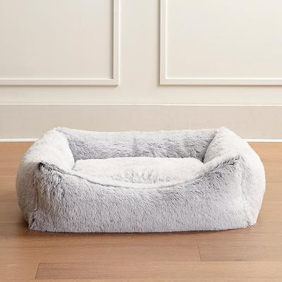 Icelandic Shag Pet Bed - Frost White, Medium - Frontgate
