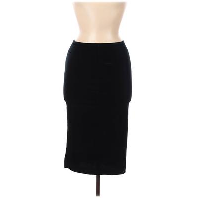 American Apparel Casual Skirt: Green Solid Bottoms - Size Medium