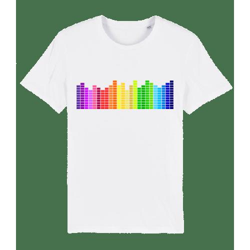 Regenbogen Soundbars - Männer Premium Bio T-Shirt Stanley Stella