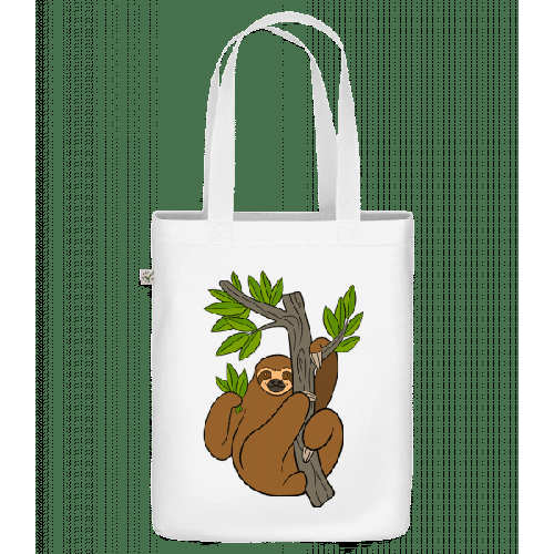 Faultier Am Baum - Bio Tasche