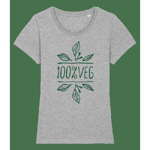 100 % Vegetarier - Frauen Premium Bio T-Shirt Stanley Stella