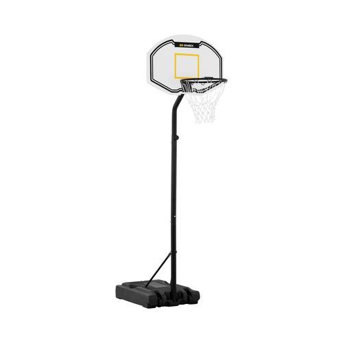 Gymrex Basketballkorb mit Ständer - höhenverstellbar - 190 bis 260 cm GR-BS12