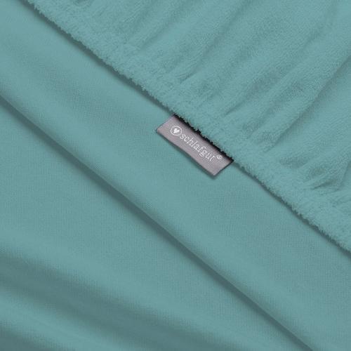 Schlafgut Massageliegenbezug Therapieliege, MADE IN GREEN by OEKO-TEX blau Bettlaken Betttücher Bettwäsche, und Nachhaltige Heimtextilien