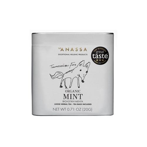 Anassa Organics Herbal Tea Dose Organic Mint 20 g