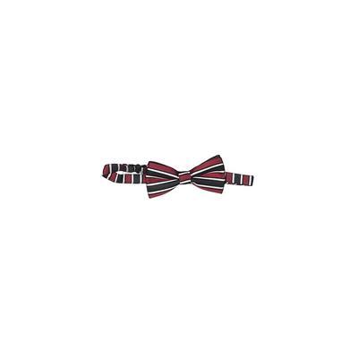 Bowtie: Burgundy Stripes Accessories