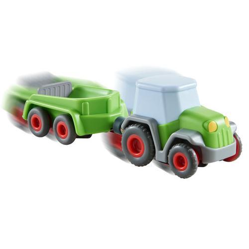 HABA Kullerbü - Traktor mit Anhänger, grün