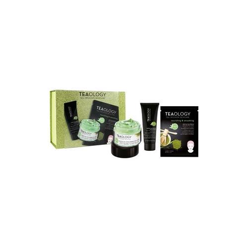 Teaology Pflege Gesichtspflege Geschenkset Matcha Tea Ultra Firming Cream 50 ml + Green Tea Detox Face Scrub 20 ml + Matcha Face Mask 30 ml 1 Stk.