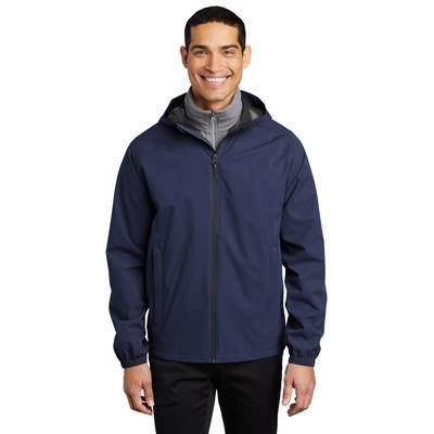 Port Authority J407 Essential Rain Jacket in True Navy Blue size 3XL | Polyester
