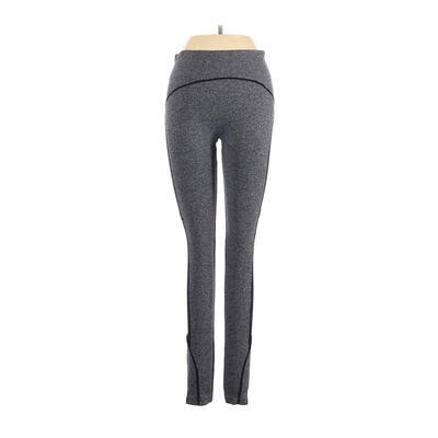 Soho Lady Active Pants - Mid/Reg Rise: Gray Activewear - Size Small