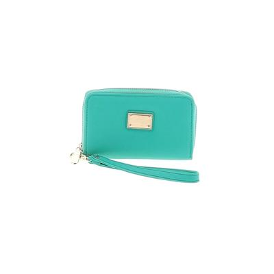Wristlet: Green Solid Bags
