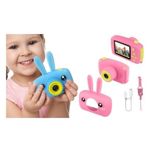 Kinder-Digitalkamera : Blau/ Ohne Karte