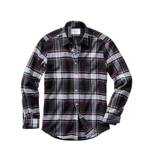 Mey & Edlich Herren Hemd Roadie-Flanellhemd schwarz L, M, S, XL, XXL