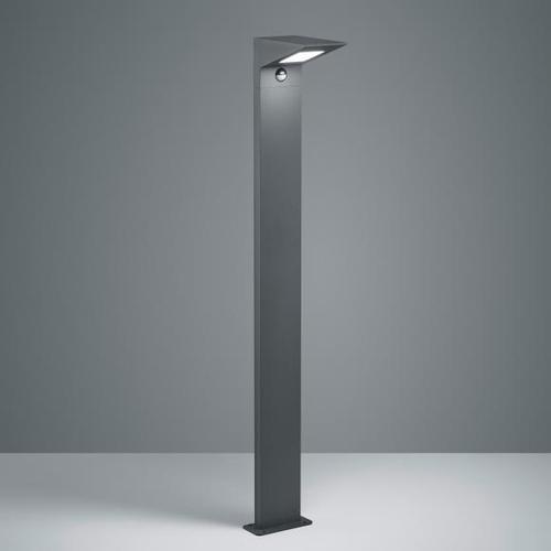 TRIO Nelson LED Pollerleuchte mit Bewegungsmelder B: 14 H: 100 T: 19,5 cm, anthrazit 425369142, EEK: A+