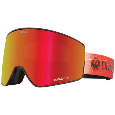 Dragon Alliance PXV2 Snow Goggles INFERNO/RED ION