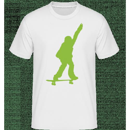 Skateboard Junge - Shirtinator Männer T-Shirt