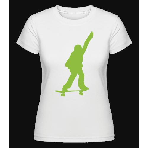 Skateboard Junge - Shirtinator Frauen T-Shirt