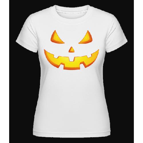 Kürbisgesicht Böse - Shirtinator Frauen T-Shirt