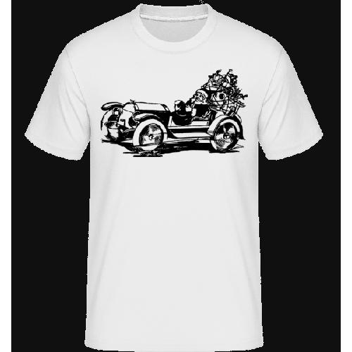 Weihnachten Oldtimer - Shirtinator Männer T-Shirt