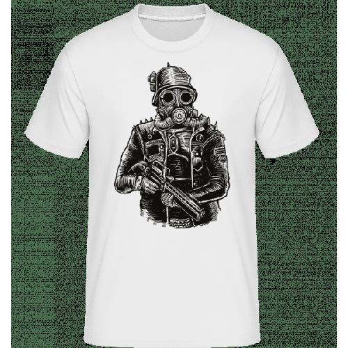 Steampunk Soldier - Shirtinator Männer T-Shirt